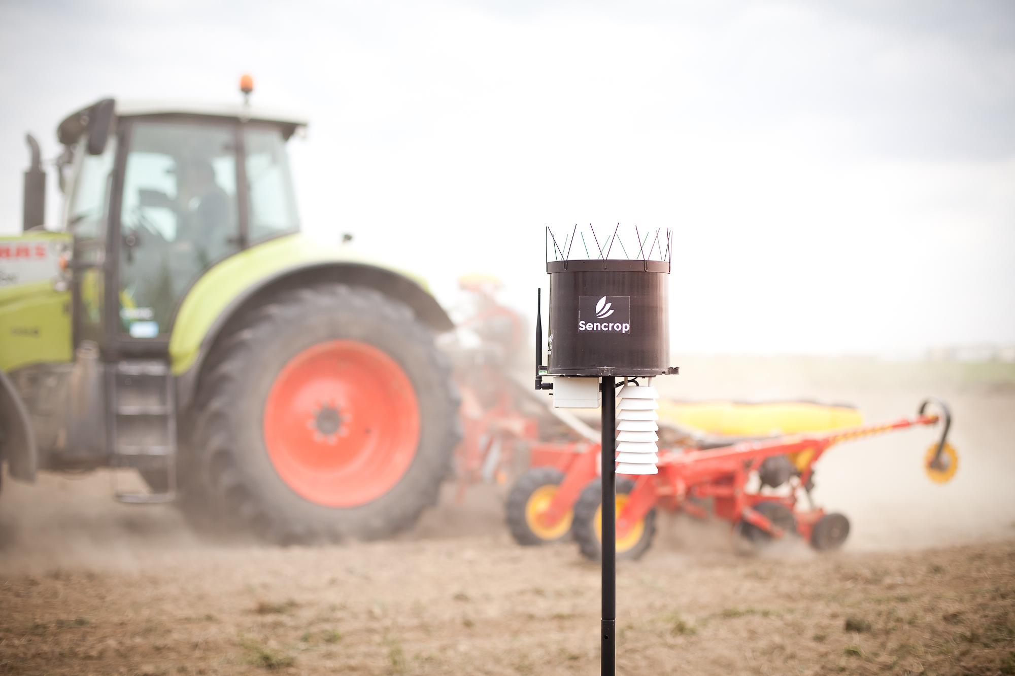 Avec Sencrop, la Chambre d'Agriculture de Région Île-de-France crée un réseau unique de données météo sur le territoire francilien.