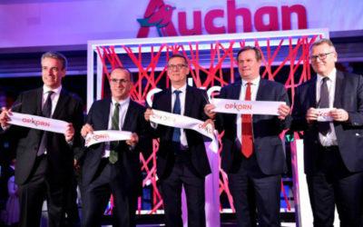 Auchan Differdange, un superstore emblématique de la vision 2025 d'Auchan Retail
