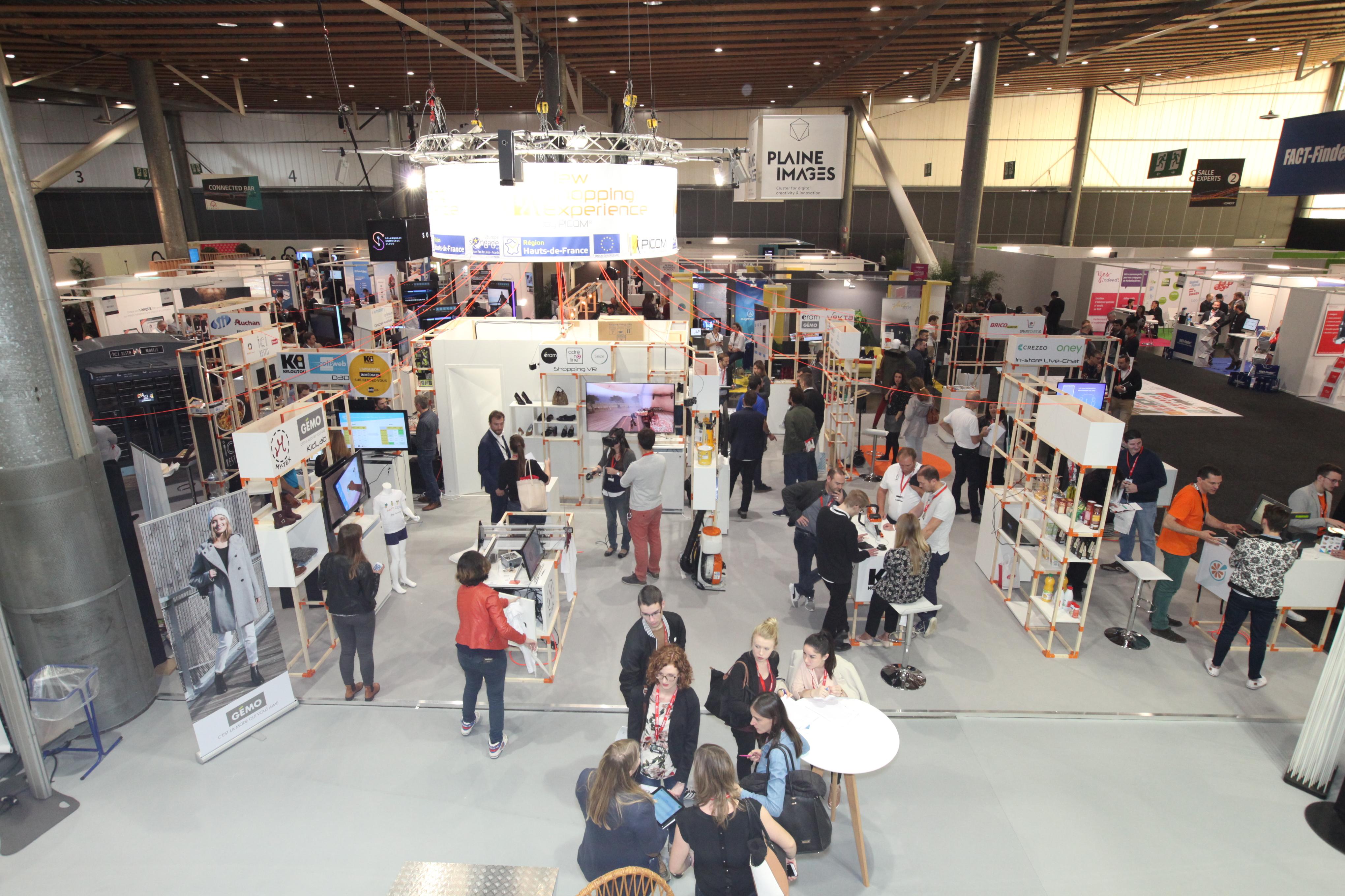 Le salon du commerce intelligent #Conext clôture 3 jours dédiés au retail, à l'innovation et à la prospective