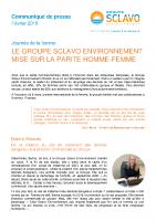 20180226_Sclavo Environnement_CP Journée de la femme