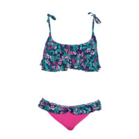 BIKINI FLEURI À VOLANTS EXCLUSIVITÉ 3SUISSES – 29,99€
