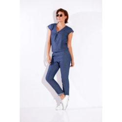 Blancheporte – Blouse denim et pantalon jean – A partir de 47,98€