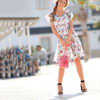 Blancheporte – Blouse et jupe écru – A partir de 40,98€