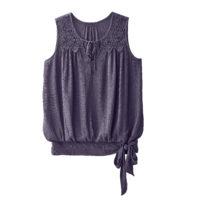 Blancheporte – Blouse violet grisé – A partir de 17,99€