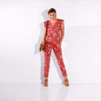 Blancheporte – Blouse volantée et pantalon imprimé – A partir de 40,98€