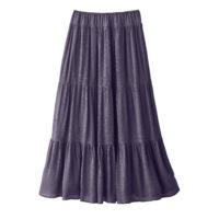 Blancheporte – Jupe Longue violet grisé – A partir de 27,99€