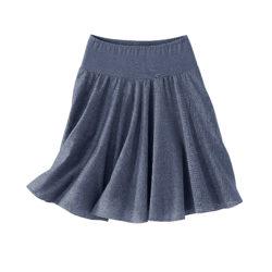 Blancheporte – Jupe bleu jean – A partir de 17,99€