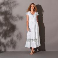 Blancheporte – Robe longue macramé – A partir de 42,99€