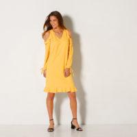 Blancheporte – Robe volantée découpe épaules – A partir de 29,99€