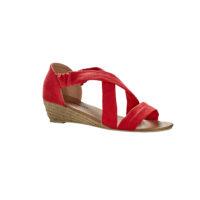 Blancheporte – Sandales compensées croisées – A partir de 24,99€
