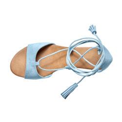 Blancheporte – Sandales lacées compensées – A partir de 29,99€