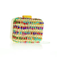 CLUTCH MULTICOLOR EXCLUSIVITÉ 3SUISSES – 39,99€