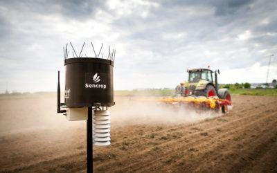 La Communauté d'agglomération du St Quentinois encourage l'agriculture connectée en s'alliant avec Sencrop.