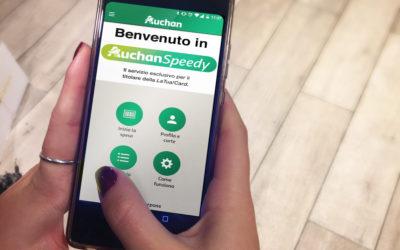 Première en Italie, Auchan Retail lance un service de paiement mobile qui supprime le passage en caisse