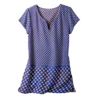 Blancheporte – Blouse imprimée bleu – A partir de 19,99€