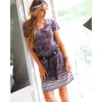 Blancheporte – Robe effet blousant – A partir de 29,99€