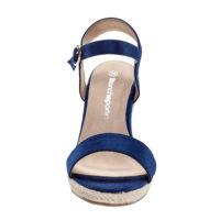 Blancheporte – Sandales compensées marine – A partir de 34,99€