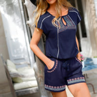 Blancheporte – Tee-shirt et short brodés – A partir de 42,98€