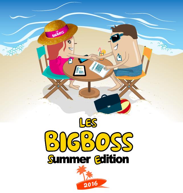 BigBoss Summer Edition – Du 3 au 5 juin 2016, 190 Big Boss et 60 sponsors se retrouvent pour un nouvel opus Business & Fun.