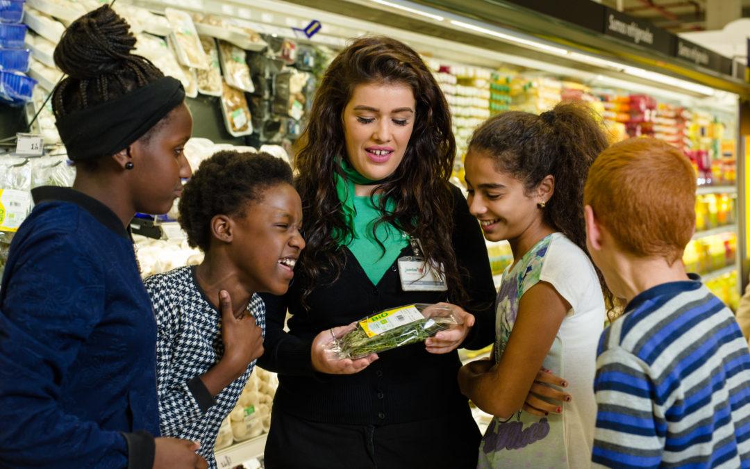 La Fondation Auchan pour la Jeunesse s'engage localement en faveur du bon, du sain et du local.