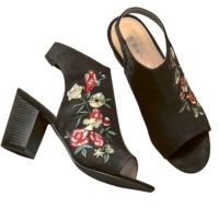 Blancheporte – Sandales brodées – A partir de 49,99€
