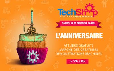 A Lille, TechShop Ateliers Leroy Merlin souffle sa première bougie.