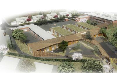 Construite par le Groupe Ramery, l'école des Viviers de Phalempin décroche le label Passivhaus
