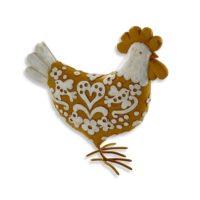 Poule décorative jaune Becquet sur 3Suisses.fr – 19,90 euros