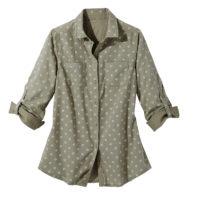 Blancheporte – Chemise bicolore bronze – A partir de 19,99€