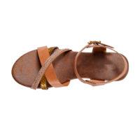 Blancheporte – Sandales à brides marron – A partir de 34,99€