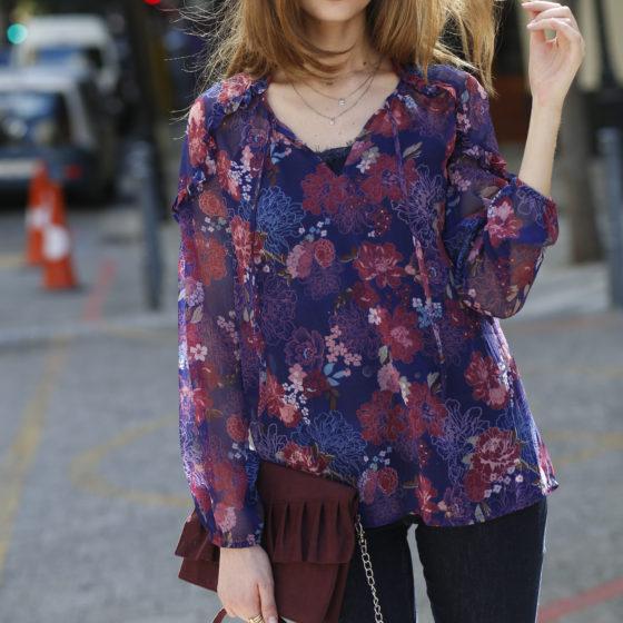 Blancheporte_La blouse imprimée_ A partir de 19.99 euros