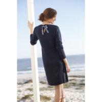 Blancheporte_La robe pull bleu grisé_A partir de 29.99 euros_1