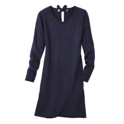 Blancheporte_La robe pull bleu grisé_A partir de 29.99 euros_3