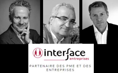 Spécialiste des opérations de fusions-acquisitions, Interface Entreprises intègre 3 nouveaux partenaires conseils.