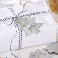 Blancheporte – Lot de 24 étiquettes forme sapins – 8,99 euros