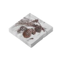 Blancheporte_Lot de 20 serviettes en papier pommes de pin_5,99 euros