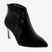 Blancheporte_Boots à talon pointues et perforées Noir_à partir de 59,99 euros