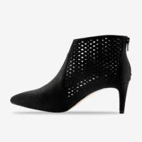 Blancheporte_Boots à talon pointues et perforées Noir_à partir de 59,99 euros_2