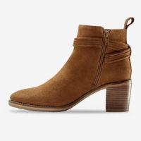Blancheporte_Boots en cuir velours à pompons Beige foncé_à partir de 79,99 euros_2