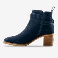 Blancheporte_Boots en cuir velours à pompons Marine_à partir de 79,99 euros_2