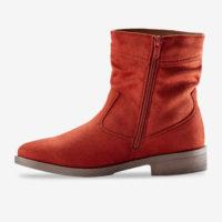 Blancheporte_Boots plates zippées Brique_à partir de 39,99 euros_2