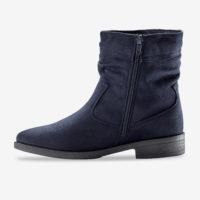 Blancheporte_Boots plates zippées Marine_à partir de 39,99 euros_2