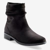 Blancheporte_Boots plates zippées Noir_à partir de 39,99 euros