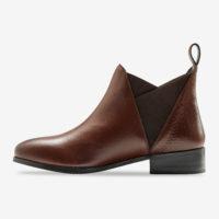 Blancheporte_Chelsea boots en cuir Marron 2_à partir de 69,99 euros