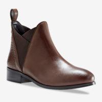 Blancheporte_Chelsea boots en cuir Marron_à partir de 69,99 euros