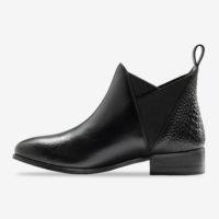 Blancheporte_Chelsea boots en cuir Noir 2_à partir de 69,99 euros