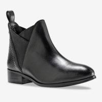 Blancheporte_Chelsea boots en cuir Noir_à partir de 69,99 euros