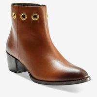 Blancheporte_Les boots oeillets cuir Marron_à partir de 79.99 euros_1