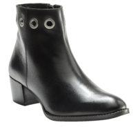 Blancheporte_Les boots oeillets cuir Noir_à partir de 79.99 euros_1