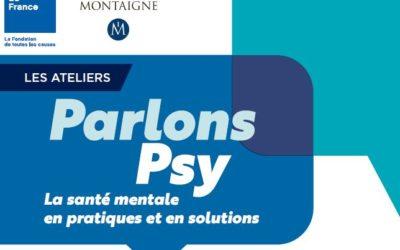 Lille I 2 octobre 2018 I « Parlons Psy » ! La santé mentale en pratiques et en solutions